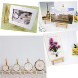 10 x small wood chalkboard display easel party sign photo holder stand wedding birthday bar table