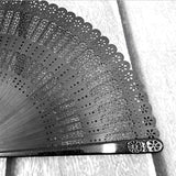 Vintage bamboo Chinese/Japanese folding hand held fan for wedding dancing birthday party gift