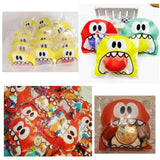 600x Monster self-adhesive cookie bags sweetie bags candy bags party treat bags for sweets snacks