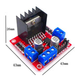 JZK L298N H-bridge Contorller module DC Stepping Motor Driver for Arduino Stepper Motor Smart Car Robot Driver Controller Board