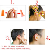 15 Pairs silicone earplugs waterproof soft ear plugs reusable foam earplugs for sleeping swimming