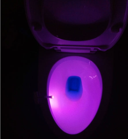 Image of TV SHOPPING STORE-Toilet Induction LED Night light
