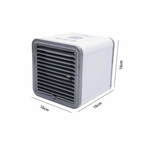 Image of Summer Necessary Mini Air Cooler Fan Portable Air Conditioner USB Personal Room Cooling Device Desktop Fans for Home Office Device