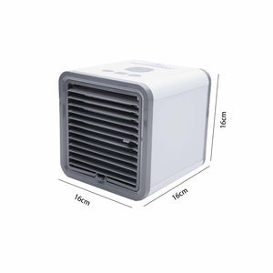 Summer Necessary Mini Air Cooler Fan Portable Air Conditioner USB Personal Room Cooling Device Desktop Fans for Home Office Device
