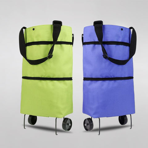 Foldable Shopping Trolley Tote Bag EASY BAG™