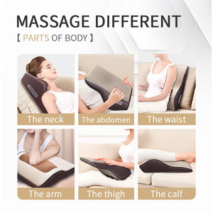 Back Waist Body Electric Multifunctional Massage Pillow