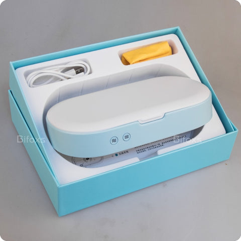 New! Ultraviolet UV Phone Sterilizer Box Face Mask Tools Sanitizer Disinfection Cleaner BF-1804