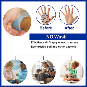 Hot New Adult Kid Liquid Wristband Hand Dispenser Handwash Gel With Whole Sanitizing Disinfectant Sub-packing Silicone Bracelet