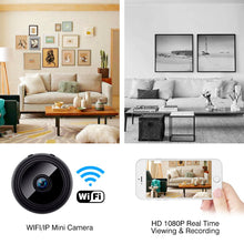 Image of Mini IP Camera Wireless WiFi HD 1080P Hidden Home Security Cam Night Vision
