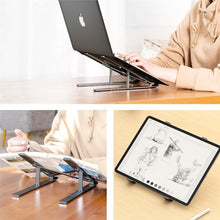 Image of Adjustable Foldable Laptop Stand