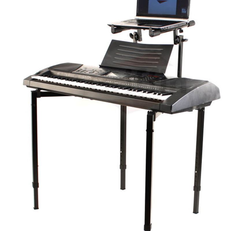 Plixio Piano Keyboard Stand w//Wheels Z Style Adjustable /& Portable Professional