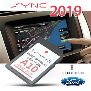 LATEST UPDATE! 2019 FORD A10 NAVIGATION GPS SD CARD SYNC 2 USA CANADA