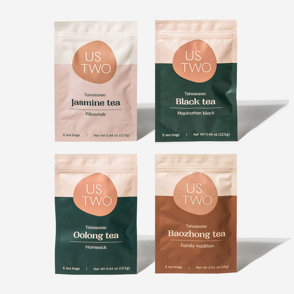 The Tea Variety Pack: All Four Teas