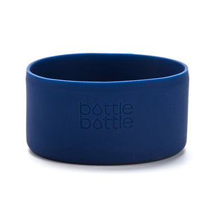 bottlebottle Protective Silicone Sleeve for 32/40oz round-edge stainless steel water bottle, Portable Travel Pet Bowl for Dog Cat Food Water Feeding