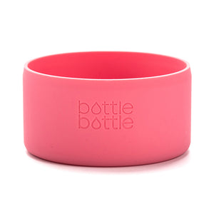 bottlebottle Protective Silicone Sleeve for 12/16/18/21/22/24oz Hydro Flask, Portable Travel Pet Bowl for Dog Cat Food Water Feeding