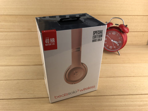 Beats by Dre Solo3 On-Ear Wireless Headphones - Rose Gold Special Edition