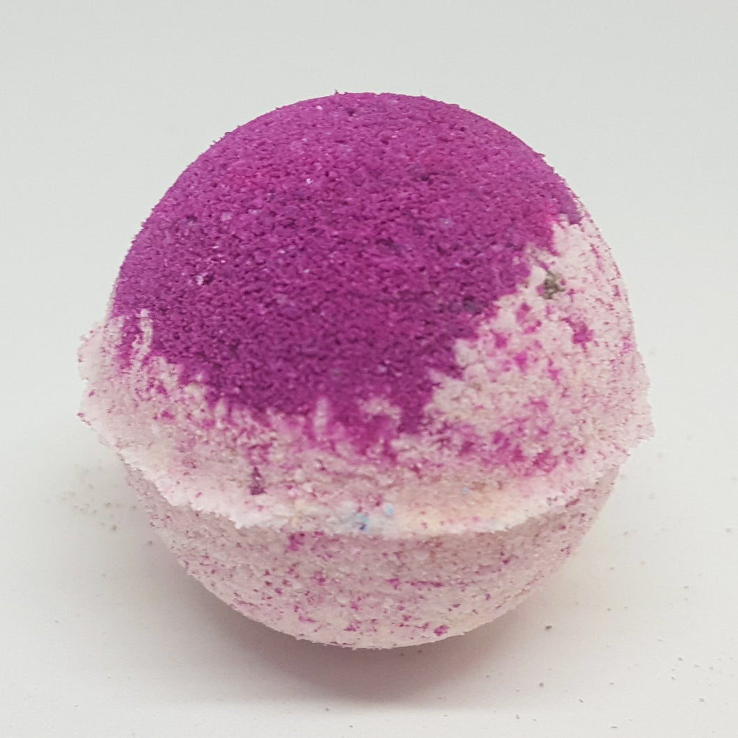 Raspberry & Vanilla Bath Bomb - Little Luxuries (Vic)