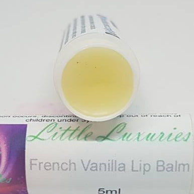 French Vanilla Lip Balm - Little Luxuries (Vic)