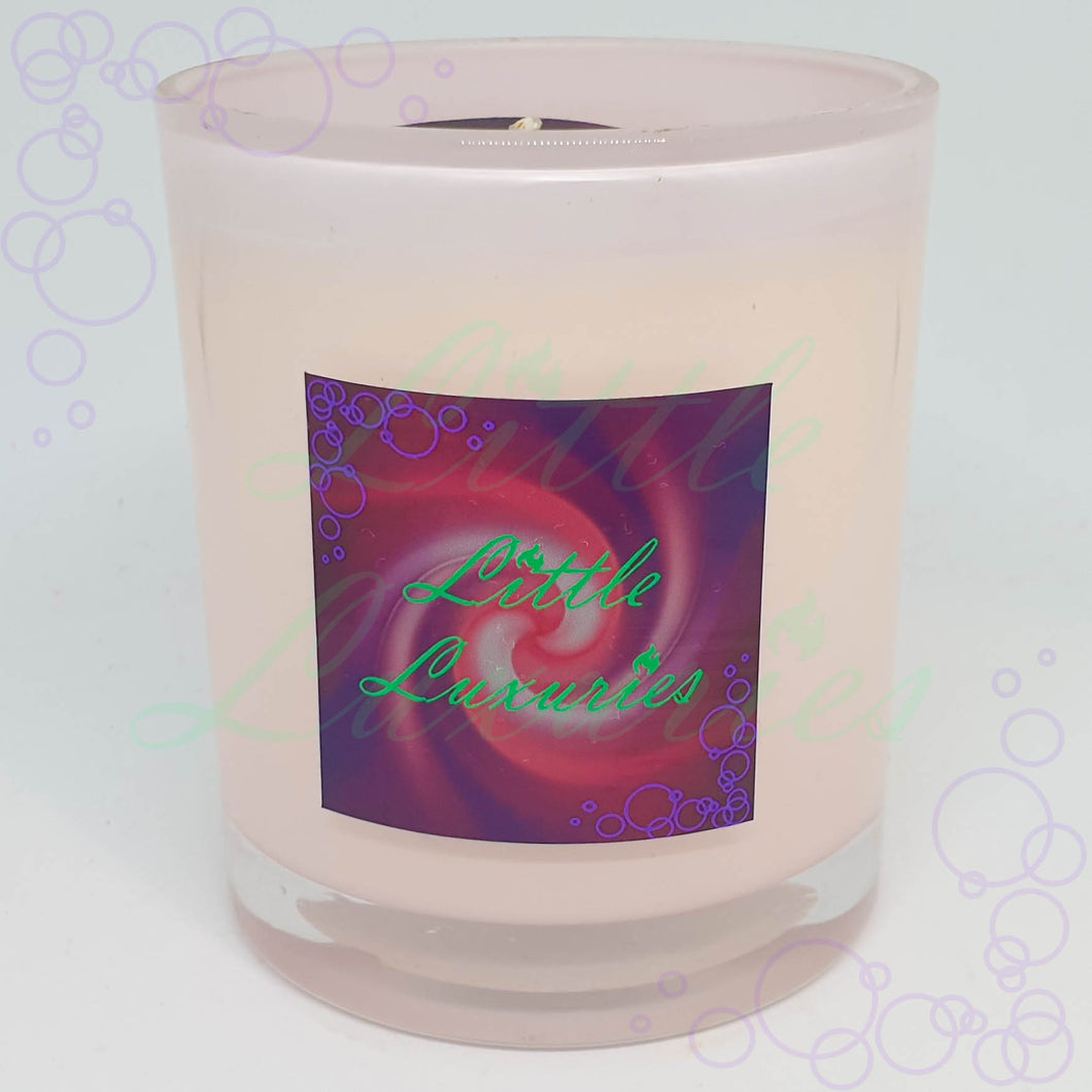 LIMITED EDITION - Baby Pink Soy Candle - Little Luxuries (Vic)