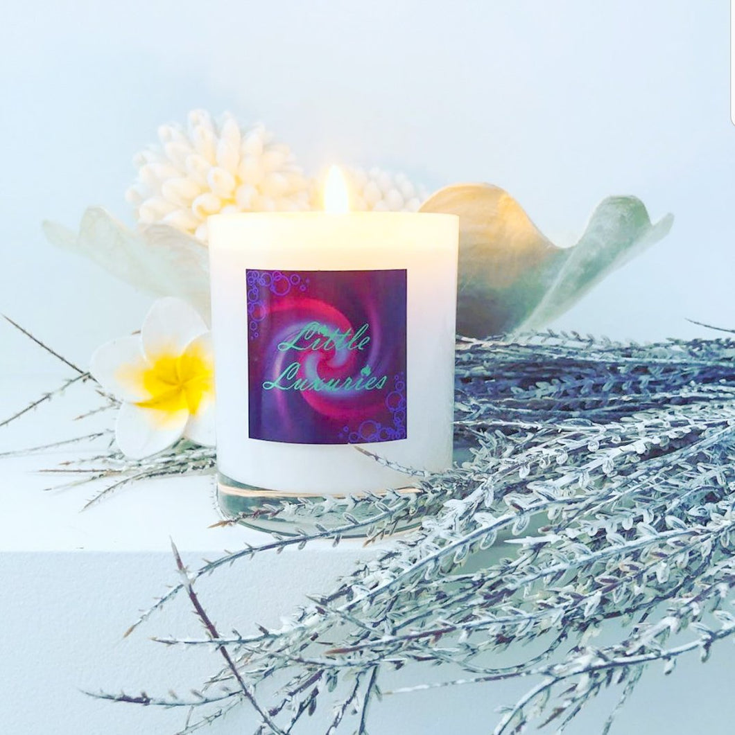 Standard White Soy Candle - Little Luxuries (Vic)