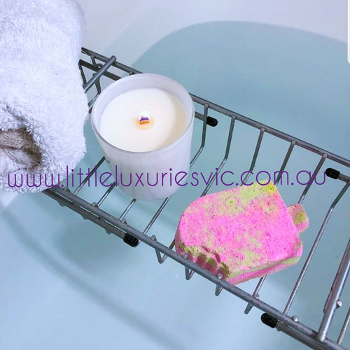 Lychee & Guava Sorbet Bath Bomb - Little Luxuries (Vic)