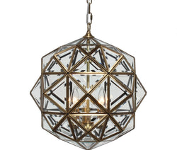Calypso Glass Lantern Chandelier