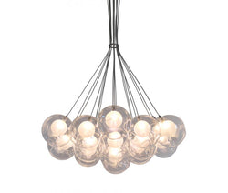 Ara 19 Light Glass Cluster LED Chandelier