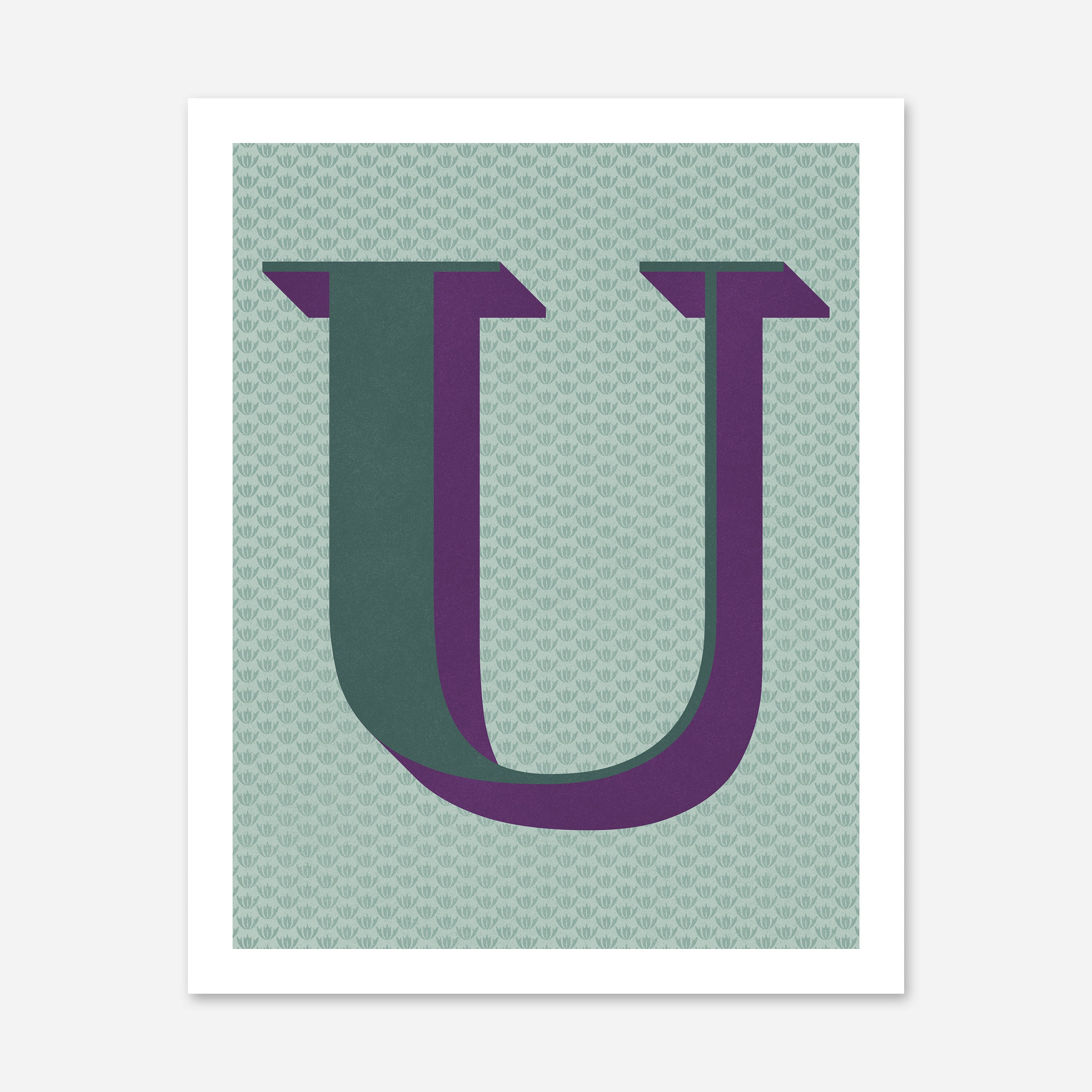 The Letter U - No. 1