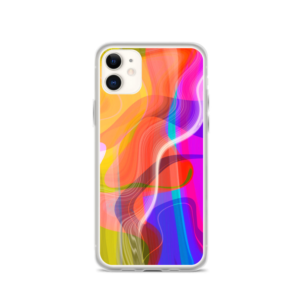 Abstract No. 1 iPhone Case
