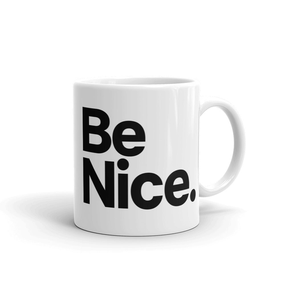 Work Hard Be Nice Mug