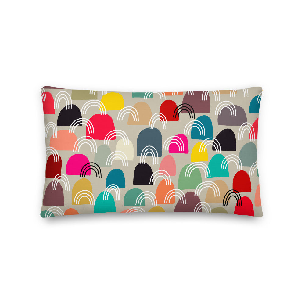 It Takes a Village Throw Pillow