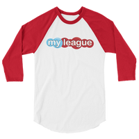 MyLeague - 3/4 Sleeve Raglan Shirt