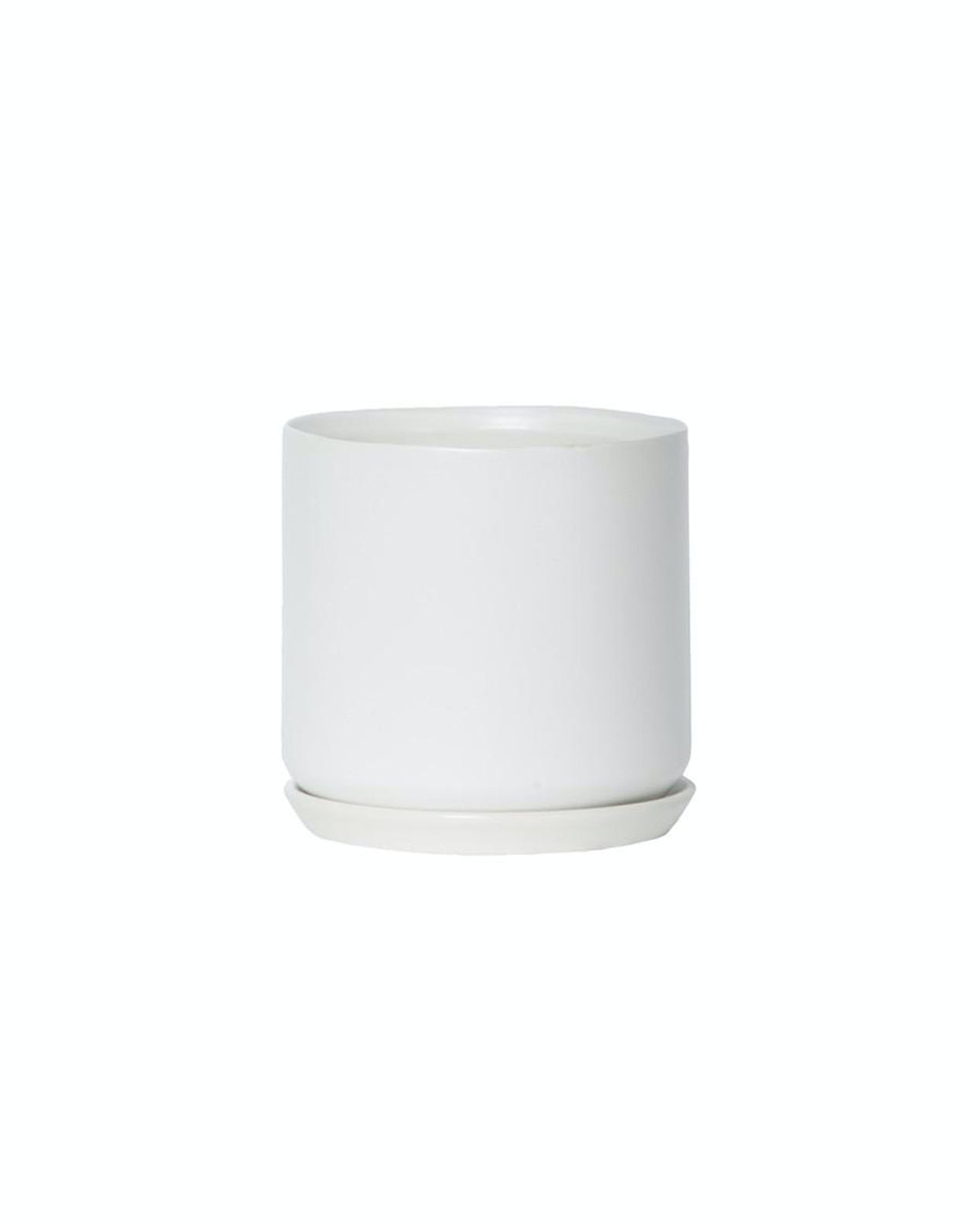 Oslo Planter - Ice White
