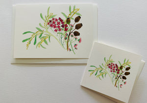 native flower greeting card