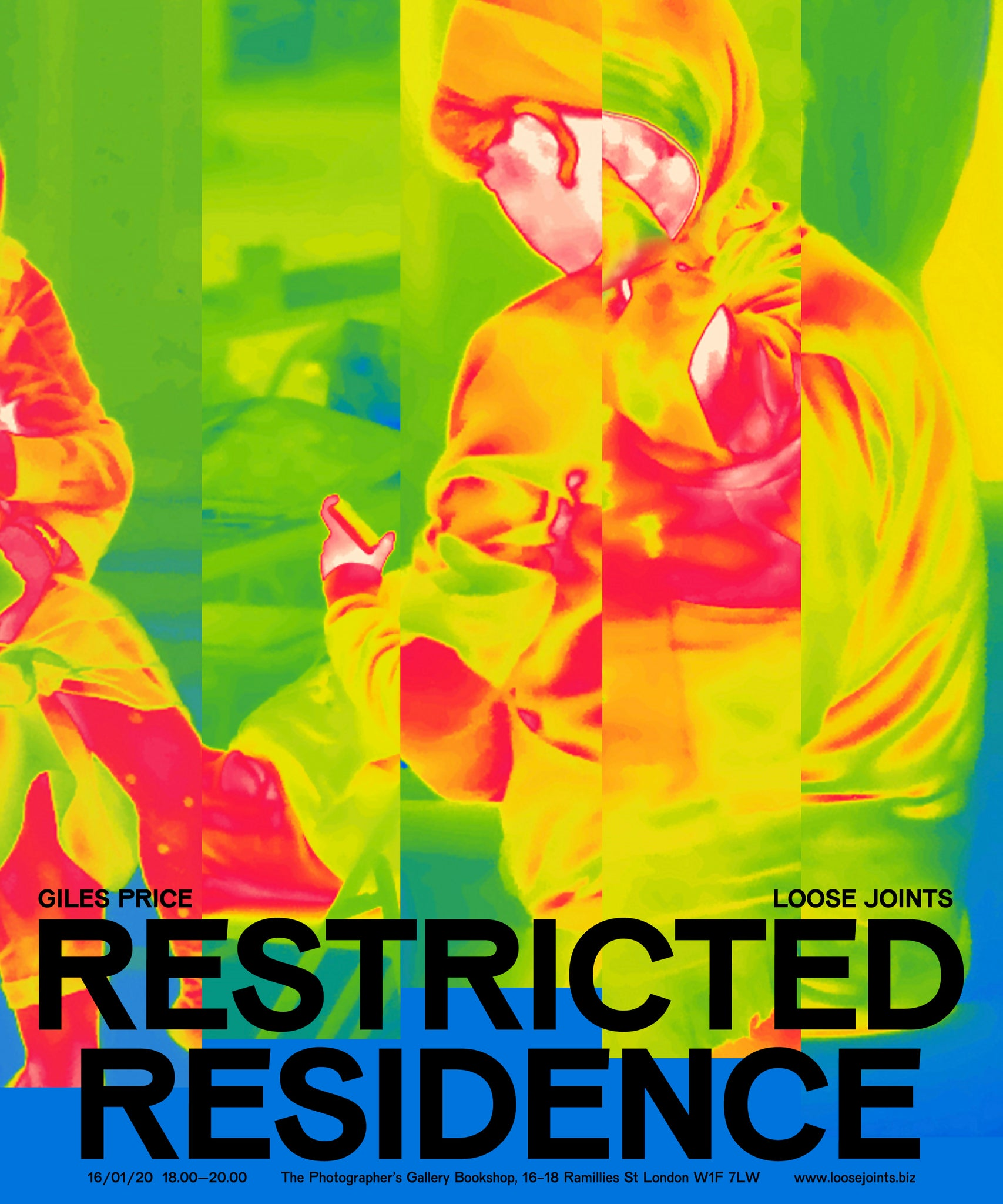 Giles Price - Restricted Residence Launch, 16 January 2020
