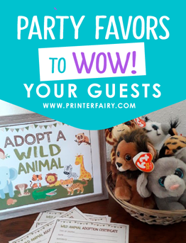Party favors to WOW! your guests