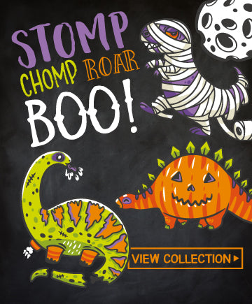 Halloween Dinosaur Party<br>Invitations