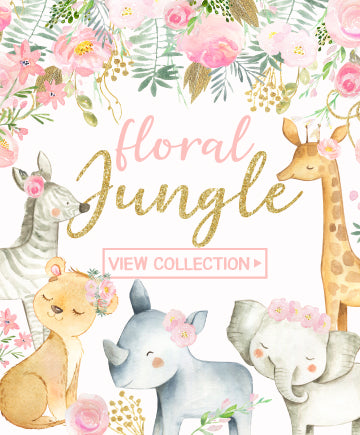 Floral Jungle Watercolors