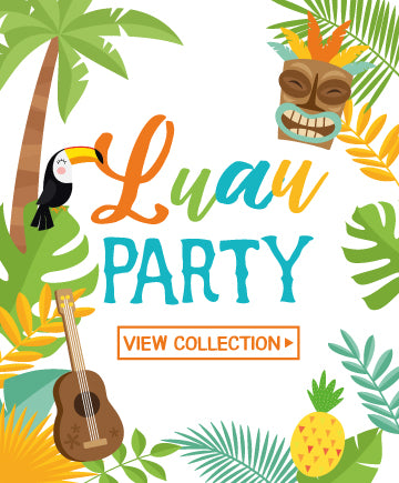 Luau Colors<br>White Background