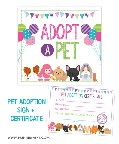 Puppy Adoption Basic Pack