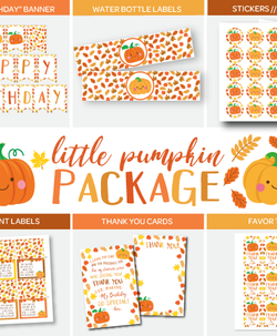Little Pumpkin Party Pack