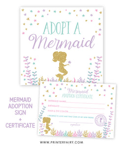 Mermaid Adoption Set