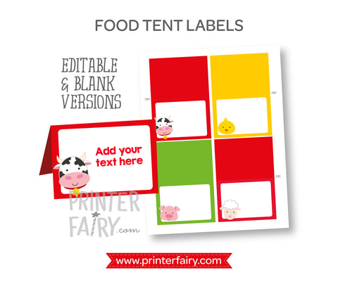 Farm Food Tents