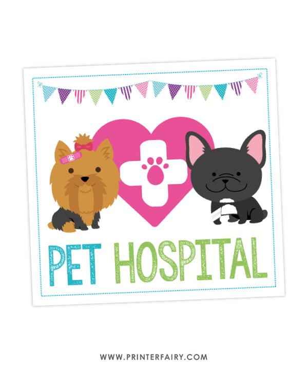 Puppy Pet Hospital Pack