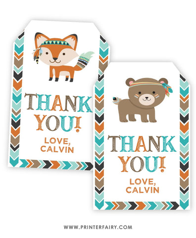 Wild One Favor Tags