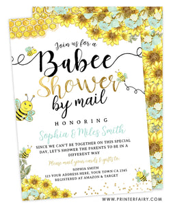 Babee Shower Invitation by mail