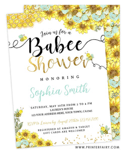 Babee Shower Invitation