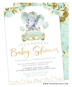 Elephant Baby Shower Parade