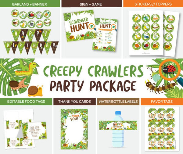 Bugs Party Pack