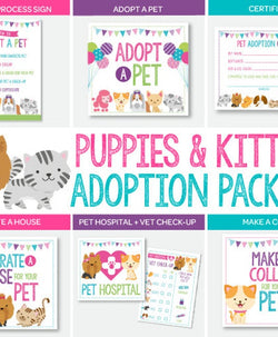 Puppies & Kitties Adoption Full Pack